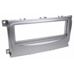 Рамка переходная Incar RFO-N11S (FORD Focus2sony,Mondeo 07-13,S-Max 1din silver)