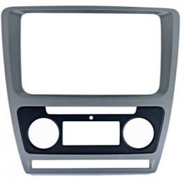 Рамка переходная Intro RSC-8676 A-SL (SKODA Octavia 04+  для CHR-8676 Silver  (Clima))