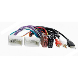 ISO переходник Intro ISO HY-03A (Hyundai IX-35, Solaris, KIA Sportage 10+ (AUX+USB))