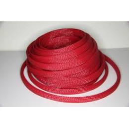 Расходник Оплётка кабельная защитная D8mm (Red)