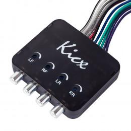 Конвертер сигнала 4-х канальный KICX HL04MS