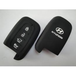 Силиконовый чехол для смарт-ключа Hyundai 4 кнопки  023