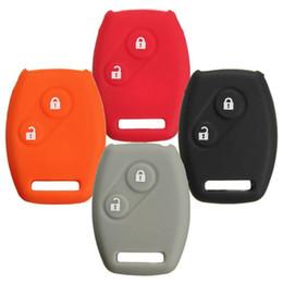 Силиконовый чехол для  дистанционного ключа Honda 2 кнопки (CRV с 2002) 003