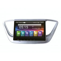 ШГУ Incar AHR-2469 (Hyundai Solaris 17+ Android 4.4.4/1024*600,wi-fi)