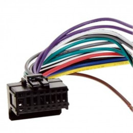 Разъем CON-PIO-01W (Pioneer DEH-1500)+ ISO-переходник