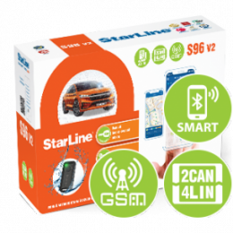 Автосигнализация StarLine S96 V2 BT 2CAN+4LIN GSM