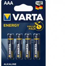 Батарейка AAA Varta LR03 4103 BL-4 Energy