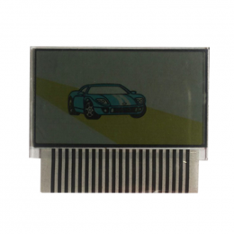 Дисплей ЖК на шлейфе SLK-600/625/675 RS (для Pantera SLK-600/625/675 RS)