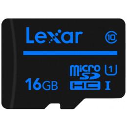 Карта памяти LEXAR micro SDHC (16GB Class10 UHS-I без адаптера)