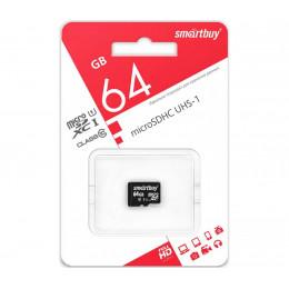 Карта памяти Smart Buy micro SD 64 Gb CL10 n/a
