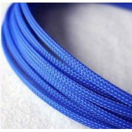 Оплетка для кабеля SS-15 (10м, синий)