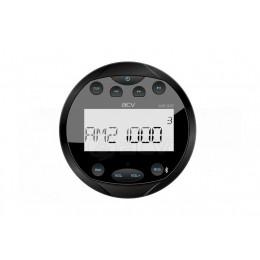 Ресивер морской круглый ACV AMR-801R (черный/4х40Вт/USB/SD/FM/AM)