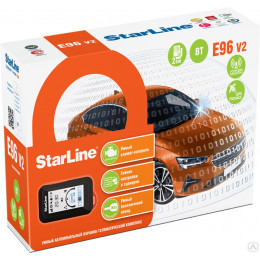 Сигнализация StarLine E96 V2 BT 2CAN+4LIN GSM/GPS