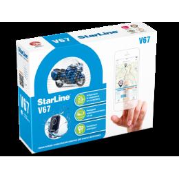 Сигнализация StarLine MOTO V67