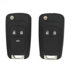 Силиконовый чехол для выкидного ключа Chevrolet 2 кнопки (Epica) 032