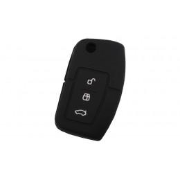Силиконовый чехол для выкидного ключа Ford New 3 кнопки 018