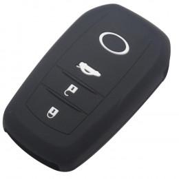 Силиконовый чехол для смарт-ключа Toyota 3 кнопки (Avensis европеец) 015