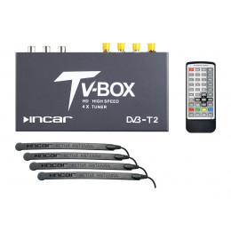 TV-тюнер цифровой INCAR DTV-18 ( DVBT2)