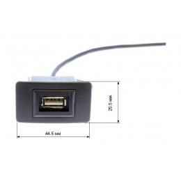USB-разъем в штатную заглушку для Honda