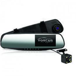 Зеркало-видеорегистратор FORCAR MR-F432 (+ камера заднего вида)