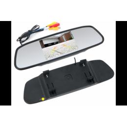 """Зеркало заднего вида SWAT VDR-2U (экран 5"""" для подкл. передн.и задней камер 800*480)"""