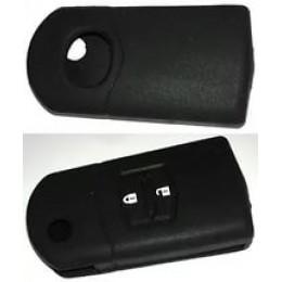 Силиконовый чехол для выкидного ключа Mazda 2 кнопки  005