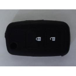 Силиконовый чехол для выкидного ключа Peugeot 2 кнопки (307, 408 лезвие VA2) 006