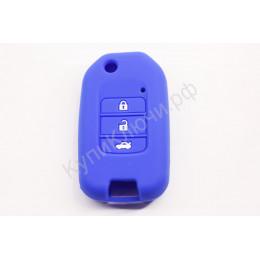 Силиконовый чехол для выкидного ключа Honda 3 кнопки 025